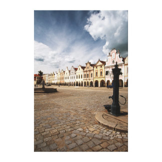 Renaissance Houses Canvas Print