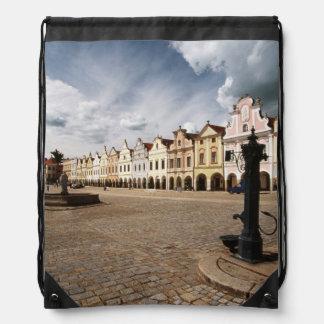 Renaissance Houses Drawstring Bag
