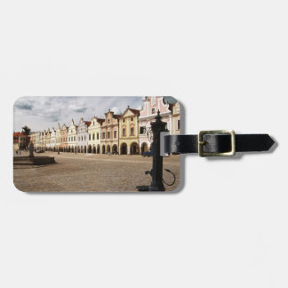 Renaissance Houses Luggage Tag