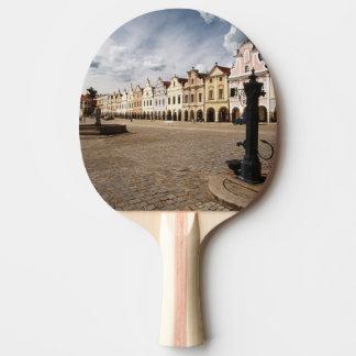 Renaissance Houses Ping Pong Paddle