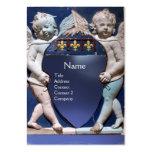 RENAISSANCE LITTLE ANGELS MONOGRAM Blue Topaz