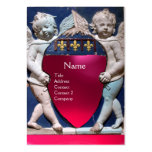 RENAISSANCE LITTLE ANGELS MONOGRAM Red Pink Ruby