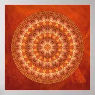 Renaissance Mandala Poster