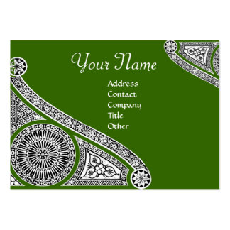 RENAISSANCE Monogram Business Card Template