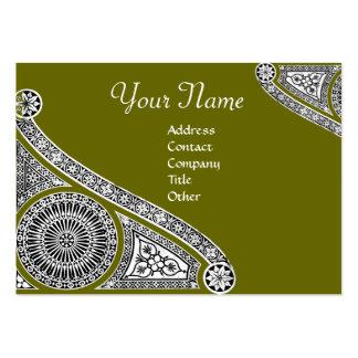 RENAISSANCE Monogram Business Card Templates
