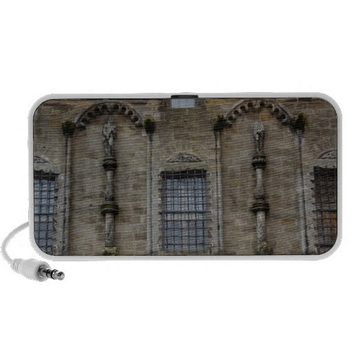 Renaissance styled statues on Royal palace Portable Speaker