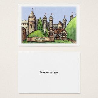 Renaissance Village Art Business Card