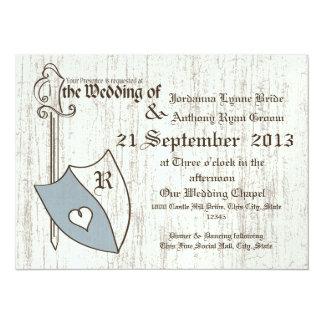 Renaissance Wedding Arms 14 Cm X 19 Cm Invitation Card