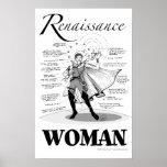 Renaissance Woman Print