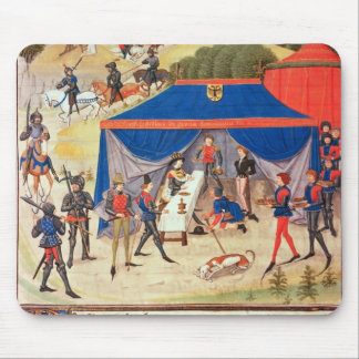 Renaud de Montauban and Charlemagne Mouse Mat