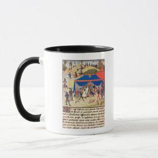 Renaud de Montauban and Charlemagne Mug