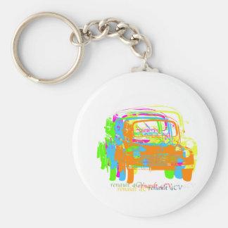 Renault 4CV Key Ring