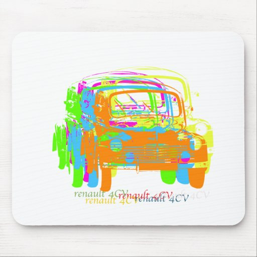 Renault 4CV Mouse Pad