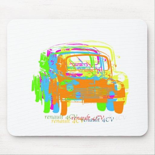 Renault 4CV Mousemats