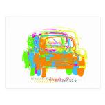 Renault 4CV Post Card