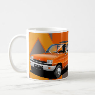 Renault 5 Illustrated Mug