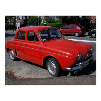 Renault Dauphine Postcard