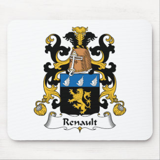Renault Family Crest Mouse Mat