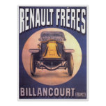 Renault Freres Automobile Advertisement Poster