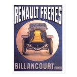 Renault Freres French Automobile Advertisement Postcards
