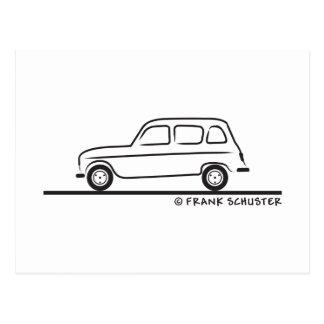 Renault R4 Postcard