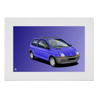 Renault Twingo Poster Art