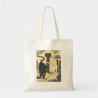 Rendevouz of Cats by Edouard Manet Budget Tote Bag