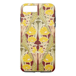 Rene Beauclair's Art Nouveau Yellow Daisy iPhone 7 Plus Case