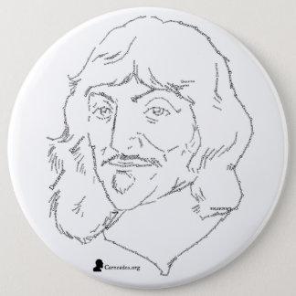 Rene Descartes Button
