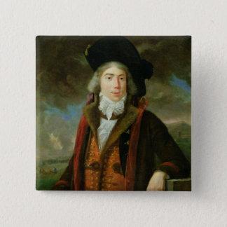 Rene-Nicolas Dufriche  Baron Desgenettes 15 Cm Square Badge