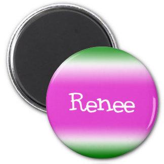 Renee 6 Cm Round Magnet