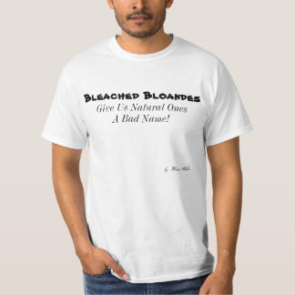 Renee Moller Bleached Bloandes T Unixes sz. T-Shirt