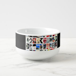 "ReneeAB9 ""Digital Wallpaper"" Collection Soup Bowl With Handle"