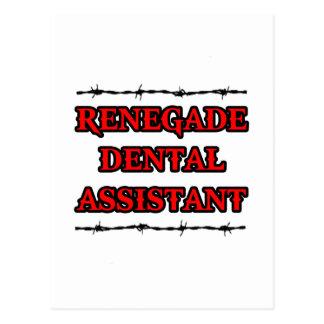 Renegade Dental Assistant Postcards