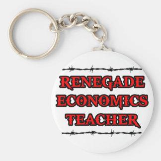 Renegade Economics Teacher Key Chains