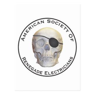 Renegade Electricians Postcard
