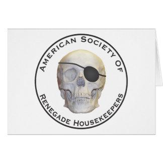 Renegade Housekeepers Greeting Card