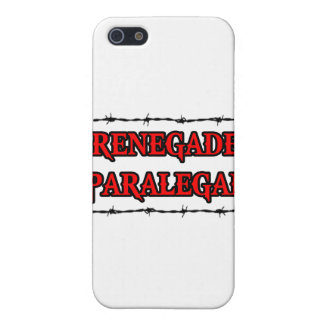 Renegade Paralegal Covers For iPhone 5
