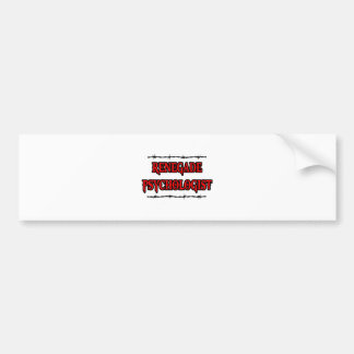 Renegade Psychologist Bumper Sticker
