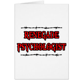 Renegade Psychologist Cards