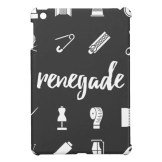 Renegade Seamstress Sewing Icons iPad Mini Cases