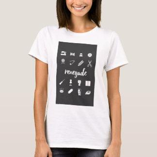 Renegade Seamstress Sewing Icons T-Shirt