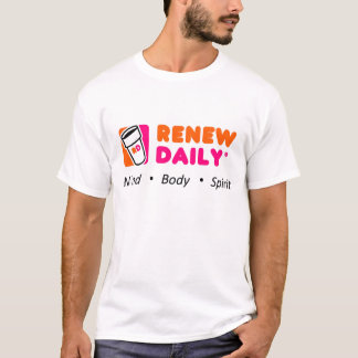 Renew Daily: Restaurant Parody T-Shirt