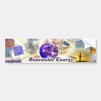 Renewable Energy Bumper Sticker