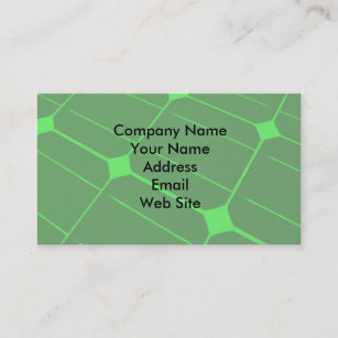 Renewable energy business cards zazzle uk renewable energy business card reheart Images