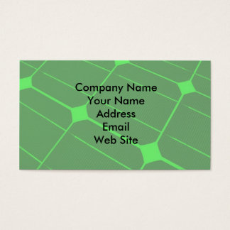 Renewable Energy Business Card