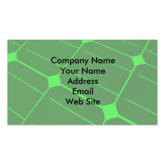 Renewable Energy Business Card Template