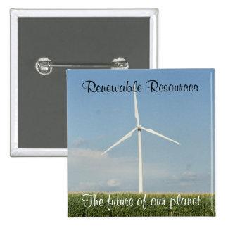 Renewable Resources Pin