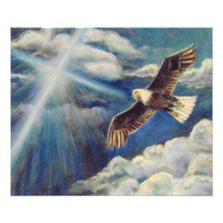 Renewed Strength: Eagle Wings Photo Print