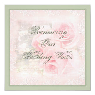 Renewing Wedding Vows Card